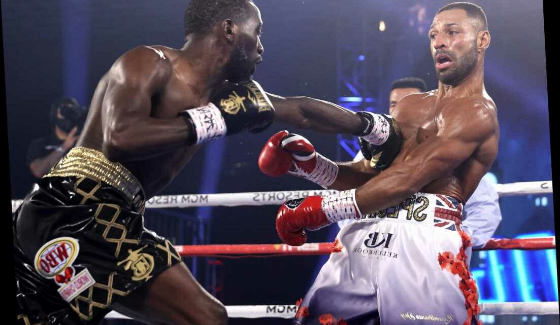 Terence Crawford pockets £3m for beating Kell Brook as Brit walks away £1.5m pay day as fight purses are revealed