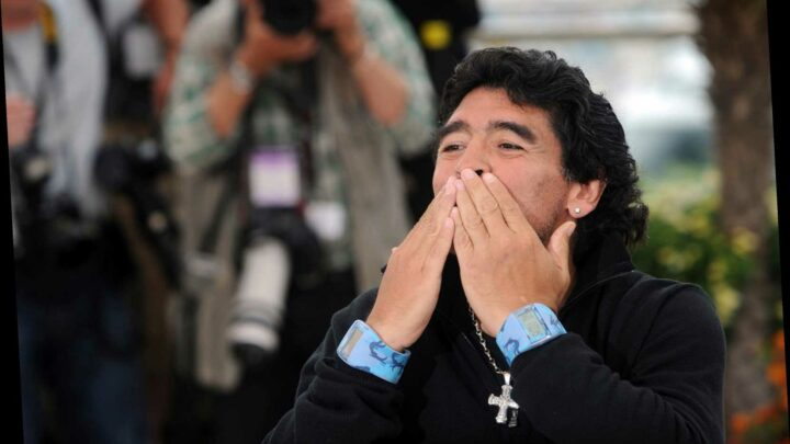 Diego Maradona revealed what he wanted written on his tombstone during emotional TV interview 15 years ago