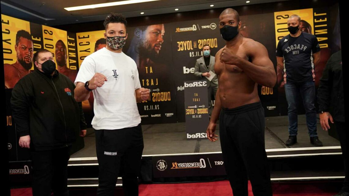 Dubois vs Joyce FREE: How to watch TONIGHT'S big heavyweight fight without paying a penny
