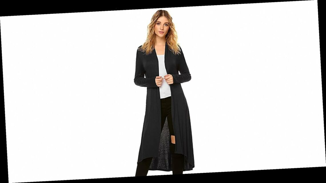 Add Instant Elegance to Your Outfit With This Maxi Cardigan