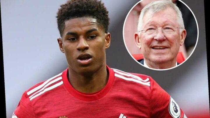 Sir Alex Ferguson hails 'fantastic' Marcus Rashford as he urges other stars to follow Man Utd hero in child hunger fight