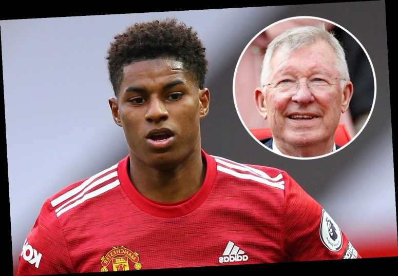 Sir Alex Ferguson hails 'fantastic' Marcus Rashford as he urges other stars to follow Man Utd hero in child hunger fight