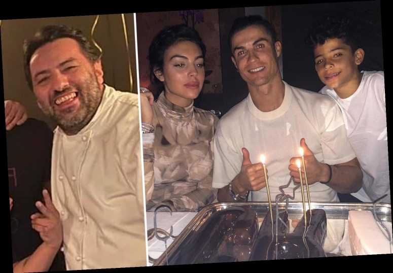 Humble Cristiano Ronaldo waited 40 minutes for table in restaurant and is a 'decent boy', reveals impressed chef