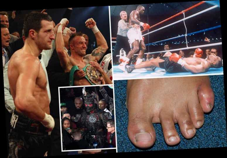 Boxing's wackiest excuses from love triangle, too much sex and HAIR GEL as Wilder claims he was 'spiked' for Fury loss – The Sun