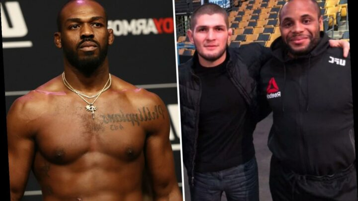 Daniel Cormier slams Jon Jones for 'losing his mind' in Khabib UFC GOAT row and fumes 'let go of your ego'