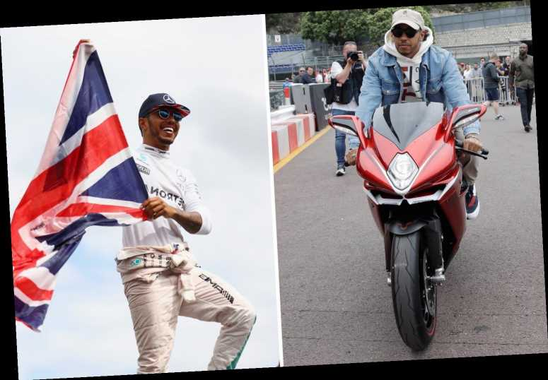 Lewis Hamilton reveals he is homesick for UK and misses 'trees' and 'Buckingham Palace' despite living in plush Monaco