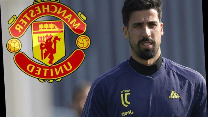 Man Utd transfer target Sami Khedira open to Premier League transfer as Juventus star reveals it would be 'dream'