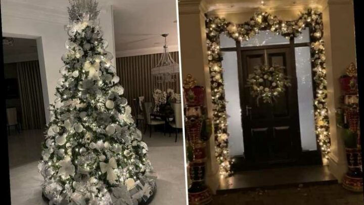 Chelsea legend John Terry puts up Christmas tree and decorations in his stunning home as he gets into festive spirit