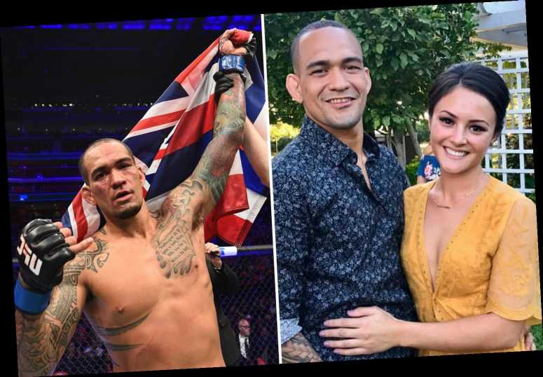 UFC star Yancy Medeiros' steamy living room sex session interrupted as anti-doping chief arrives to collect sample