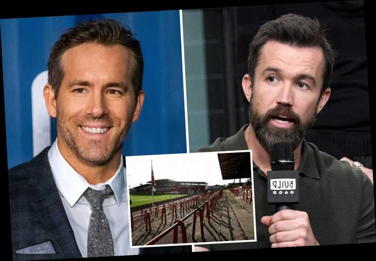 Hollywood stars Ryan Reynolds and Rob McElhenney to take over Wrexham after almost 99 per cent of fans back move