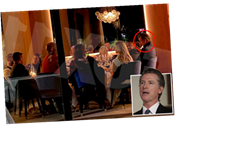 Newsom's cackling party 'so loud they annoyed other diners' – as Americans told to whisper at Thanksgiving to stop Covid