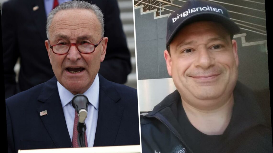 NYC man, 54, 'wanted to kill Chuck Schumer' and 'anyone that claims to be a Democrat' as well as 'blow up the FBI'