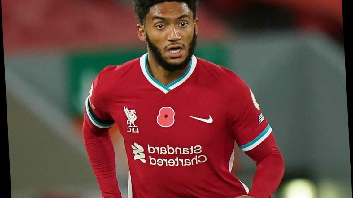 Joe Gomez suffers 'serious' suspected knee injury while on England duty in another big defensive blow for Liverpool