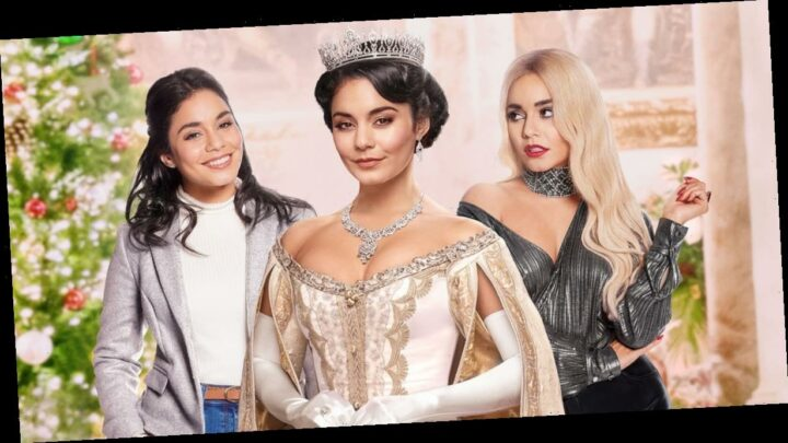 """Vanessa Hudgens Reveals Why This Gown From The Princess Switch 2 Was Her Favorite """"Fiona Fit"""""""