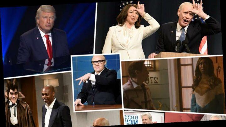 Dave Chappelle SNL Sketches Ranked: Giddy Cast Celebrates Joe Biden Win