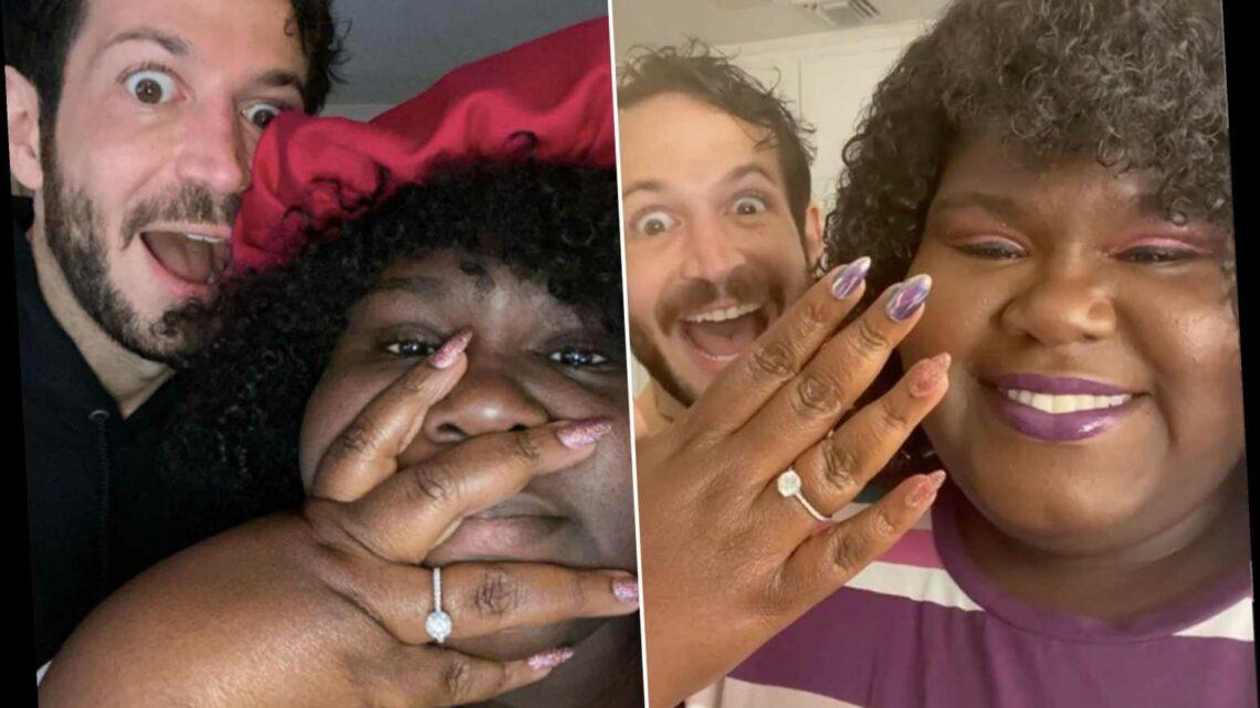 Gabourey Sidibe is engaged to Brandon Frankel