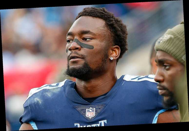Titans' Corey Davis Gets Emotional in Game the Day After Brother's Death: 'Heavy on My Mind'