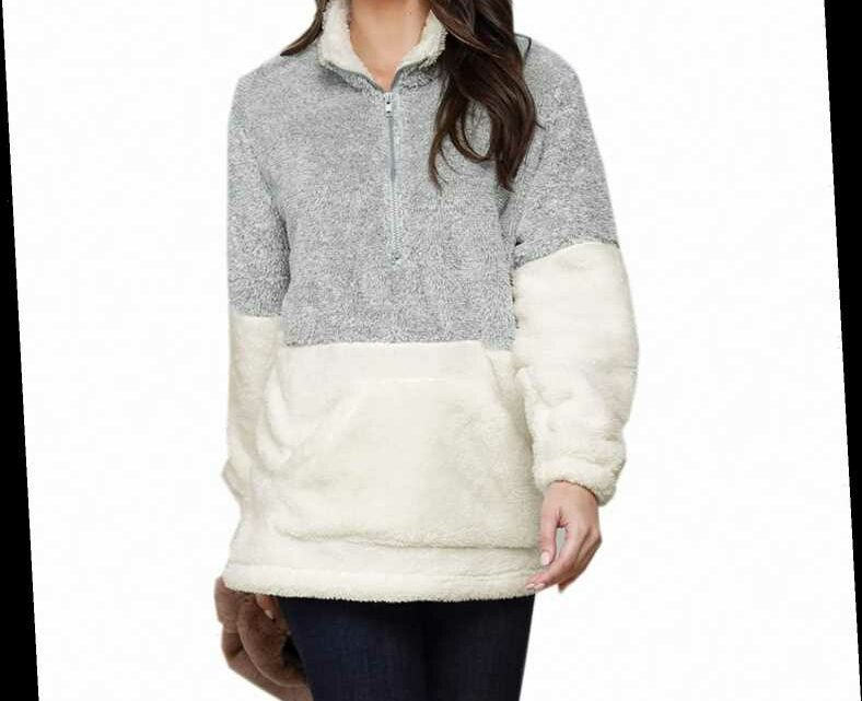 Amazon Shoppers Say This $30 Fluffy Pullover Is the Softest Thing They've Ever Worn