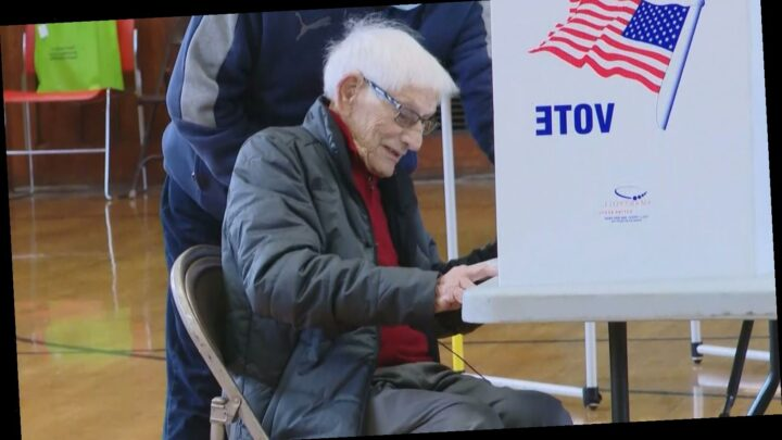 104-Year-Old Syracuse Man Votes in His 21st Presidential Election: 'It Is a Wonderful Thing'