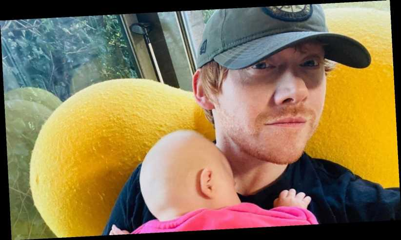 The adorable way Rupert Grint made his Instagram debut
