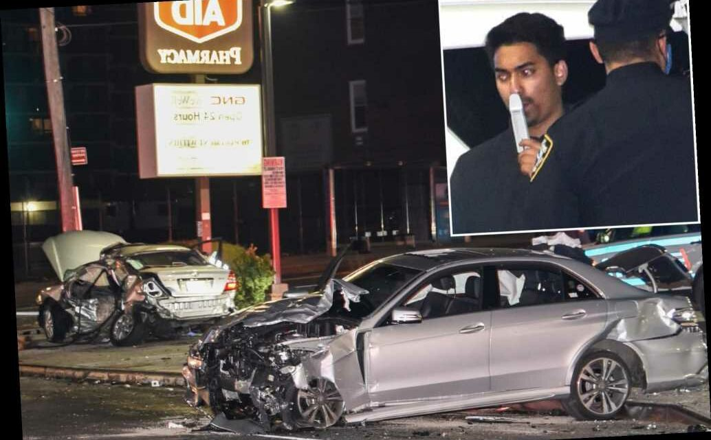 Motorist dies in crash with suspected drunk driver in Queens: cops