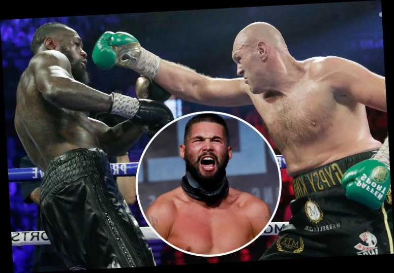 Tony Bellew brands Deontay Wilder 'insane' over Tyson Fury cheat claims as Frank Warren rubbishes theory