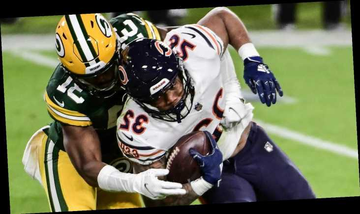Fantasy football stock watch: Bears' David Montgomery peaking at right time