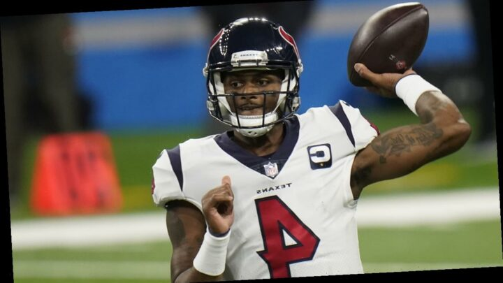 Deshaun Watson's 4 TDs lift Texans to 41-25 win over Lions