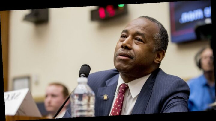 """Ben Carson says he was """"desperately ill"""" with COVID-19"""