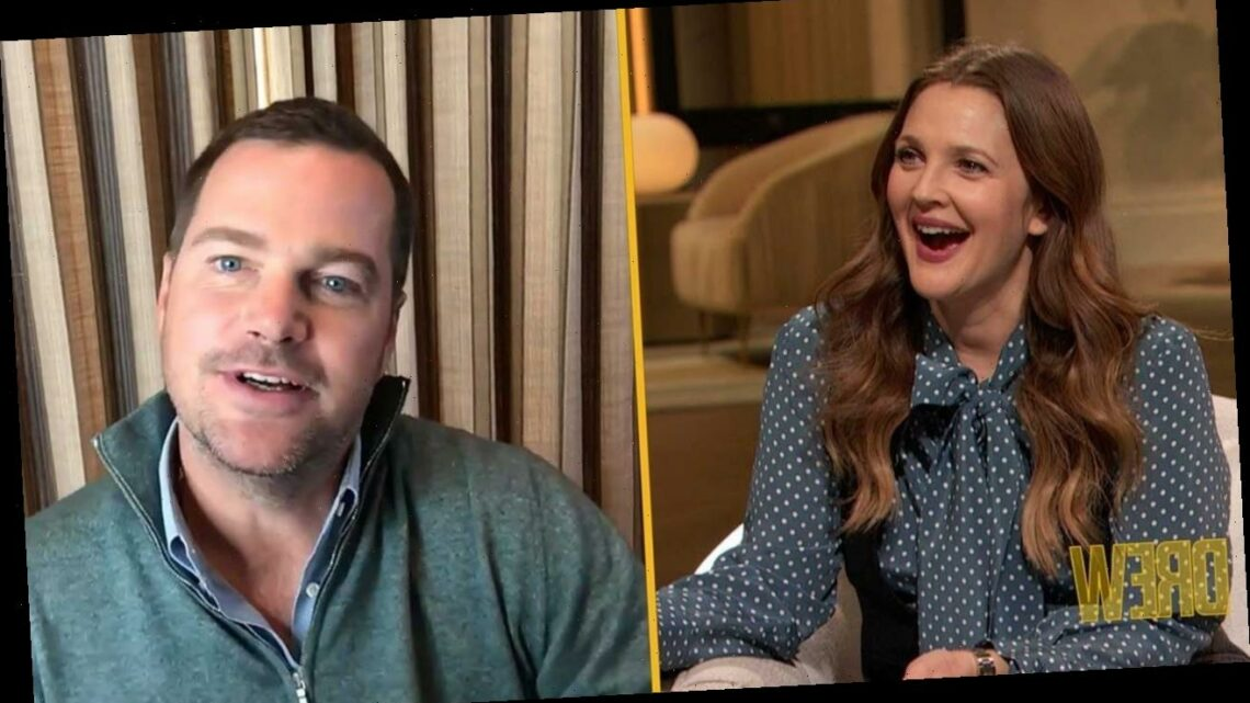 Drew Barrymore Reunites With Her 'Mad Love' Co-Star Chris O'Donnell