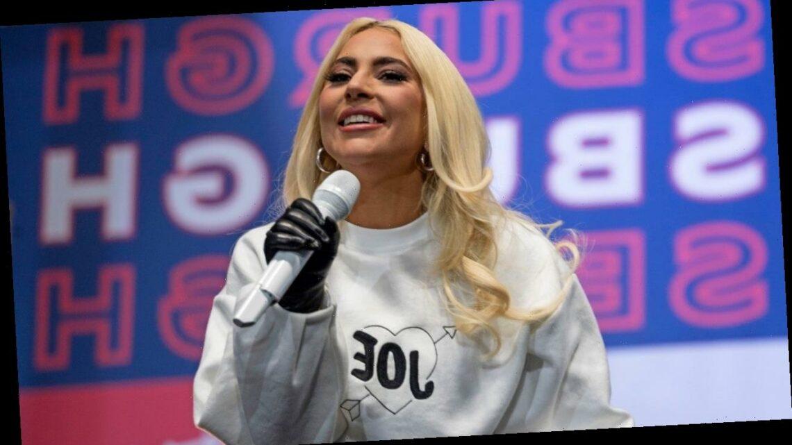 Lady Gaga Reflects on Taylor Kinney Engagement at Joe Biden Rally