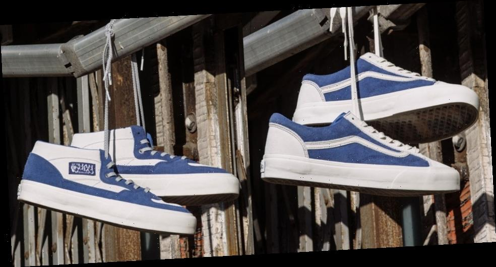 Better™️ Gift Shop Brings its Signature Blue Hue to Vault by Vans' Style 36 and Half Cab