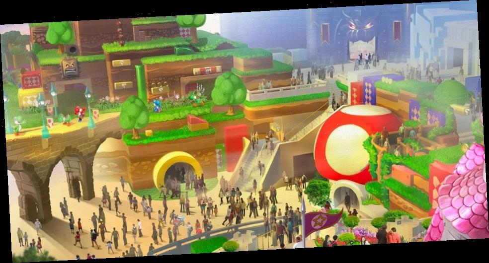 Take a Look at Japan's Near-Completed Super Nintendo World Theme Park