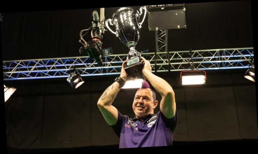 European Championship Darts: Peter Wright beats James Wade to claim another major darts title