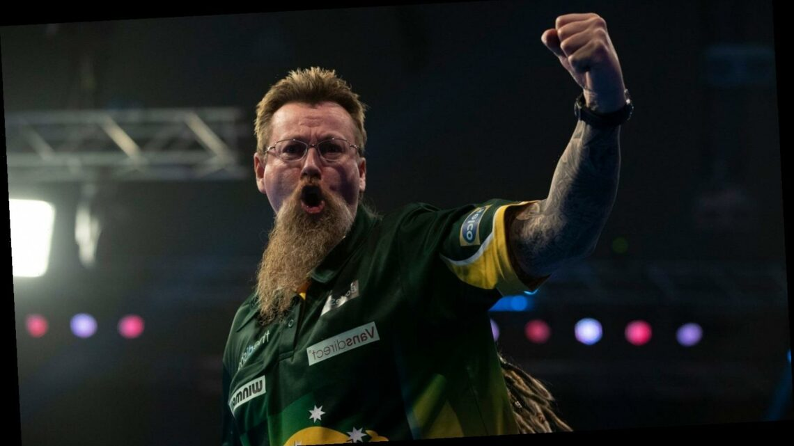 Grand Slam of Darts 2020: Simon Whitlock meets Jose De Sousa and James Wade takes on Dimitri Van den Bergh for a place in the final