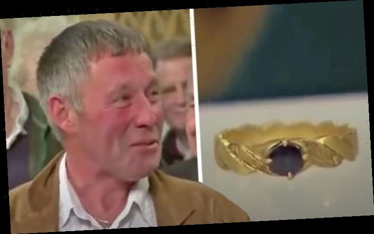 Antiques Roadshow guest astonished at tiny ring's huge valuation 'You're joking!'