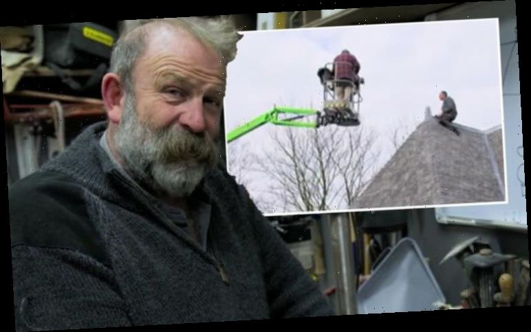Dick Strawbridge runs into trouble with Escape to the Chateau renovation 'As far as we go'