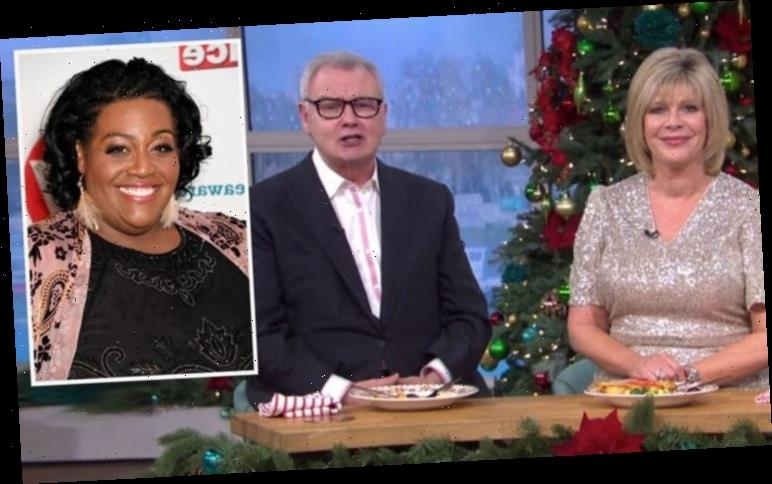 Alison Hammond reacts to Eamonn Holmes and Ruth Langsford This Morning exit