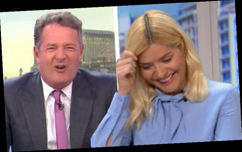 Holly Willoughby 'ecstatic' as she catches Piers Morgan out with 'elaborate' viral prank