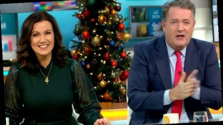 Piers Morgan and Susanna Reid replaced on GMB as stars take break 'When is Piers back?'