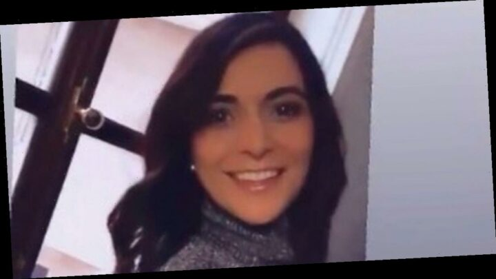 GMB weather girl Lucy Verasamy films sultry video in skintight sparkly top
