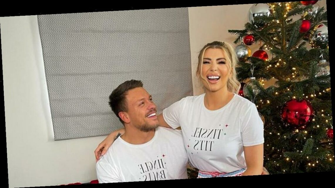 Alex and Olivia Bowen transform their £1 million home into a stunning luxury Christmas grotto