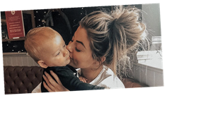 Love Island's Jessica Hayes says son Presley 'gives her a reason to carry on' after devastating miscarriage