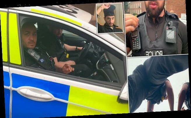 Police tell man to 'f*** off' before arresting him for 'terrorism'