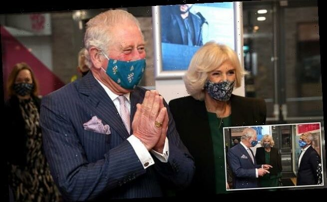 Prince Charles and Camilla Parker Bowles visit a theatre and nightclub