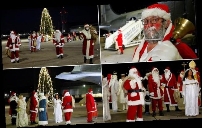 Rent-a-Santas group who visit families to spread Christmas joy