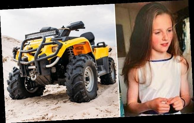 Girl, 13, died in farm quad bike accident