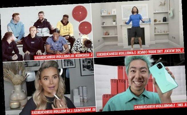 Fitness guru Joe Wicks is crowned UK's top trending YouTuber of 2020
