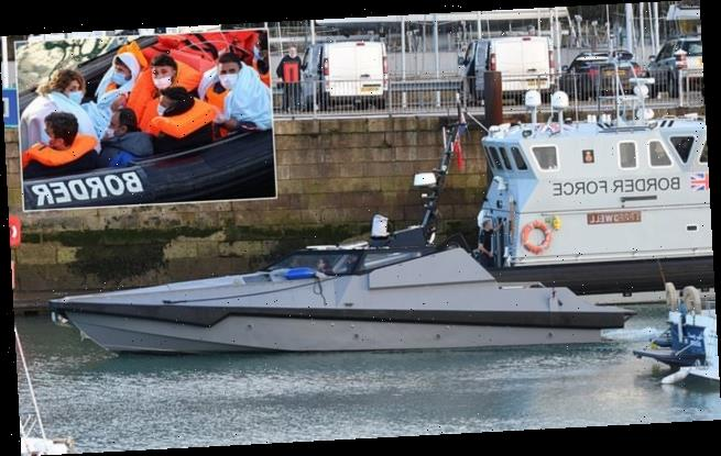 Bond-style super-vessel gets put through its paces at Dover