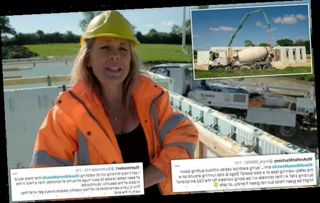 New Country Life: Sarah Beeny slammed for pouring concrete into fields